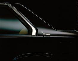 Detail: Bertone Logo. Bild Volvo Cars