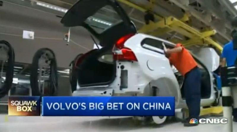 Volvo aus China fuer die USA