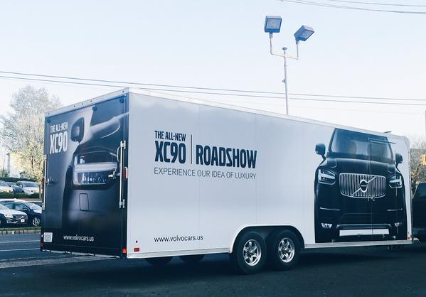 Volvo XC90 Roadshow. Bild: Volvo Cars US