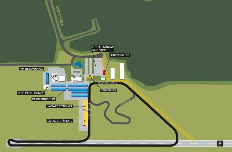 STCC: Neuer Kurs auf dem Skovde Flugfeld