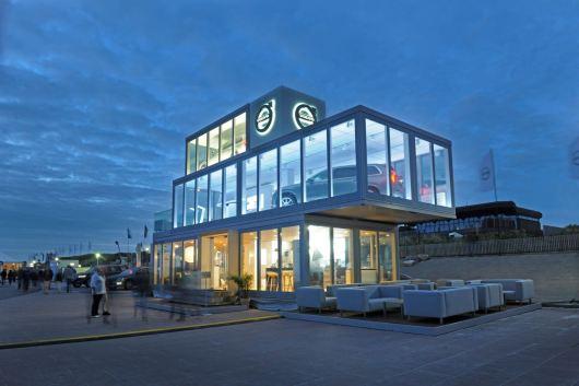 Das neue Volvo Forum: Mobiles Markenhaus bringt Volvo zu den Kunden