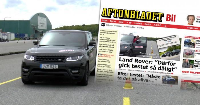 Range Rover Sport vs. Volvo XC90 vs. Audi Q7. Unfair gemessen?