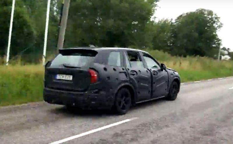 Erwischt: Neuer Volvo V90?