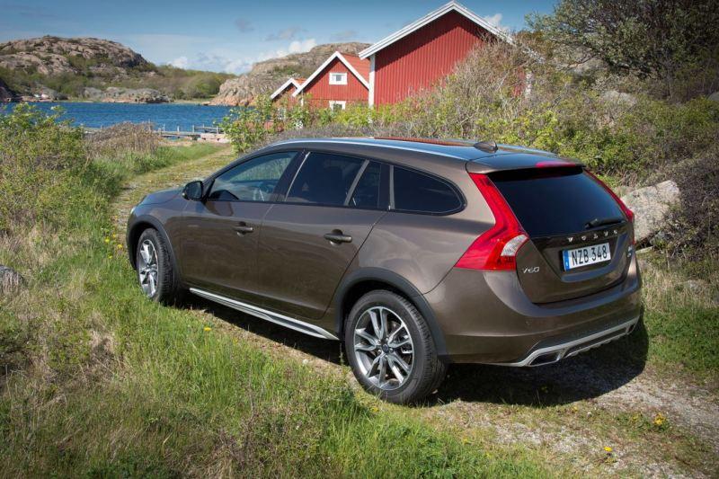 Volvo V60 Cross Country. MY 2016. Bild: Volvo Cars