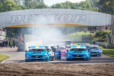 STCC Final Knutstorp. Bild: Polestar Cyan Racing