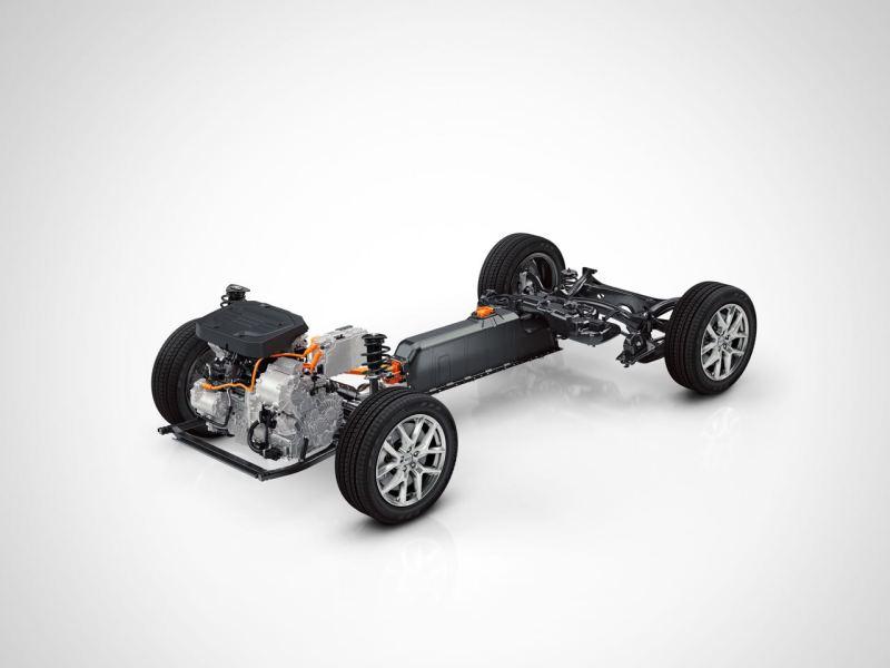 Volvo T5 Twin Engine - CMA Plattform. Bild: Volvo PV
