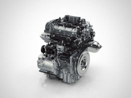 Drive-E 3-cylinder Hybrid engine. Picture: Volvo PV