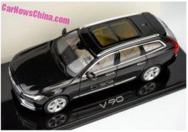 Volvo V90 - Miniatur aus China