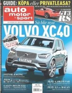 Volvo XC40 als Titelbild der AMS
