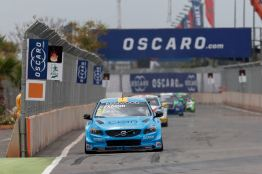 61 EKBLOM Fredrik (swe) Volvo S60 team Polestar Cyan racing action during the 2016 FIA WTCC World Touring Car Race of Morocco at Marrakech, from May 6 to 8 2016 - Photo Jean Michel Le Meur / DPPI.