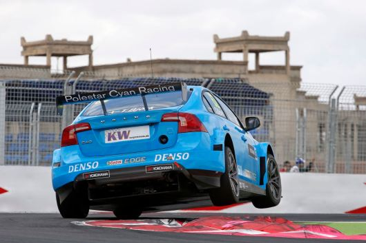 62 BJORK Thed (swe) Volvo S60 team Volvo Polestar action during the 2016 FIA WTCC World Touring Car Race of Morocco at Marrakech, from May 6 to 8 2016 - Photo Francois Flamand / DPPI