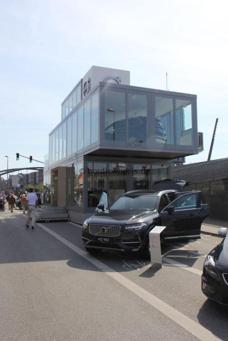 Mobiles Volvo Markenhaus, Hafengeburtstag Hamburg.
