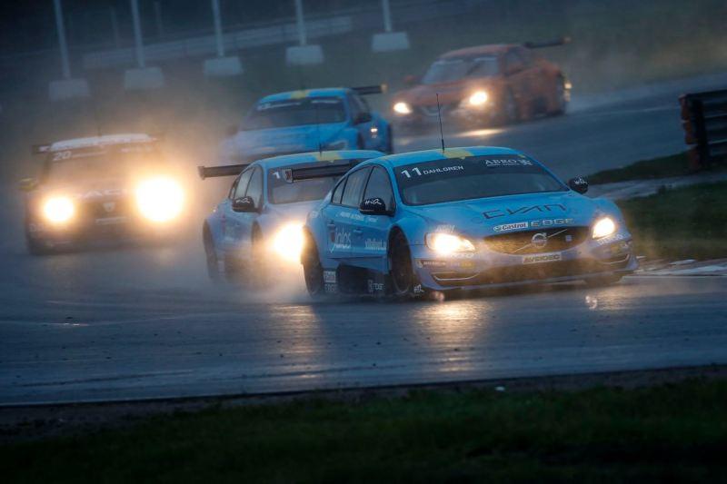 Mantorp 2016-05-26 STCC race 1 Robert Dahlgren vann andra racet på Mantorp före Richard Göransson, trea blev Daniel Haglöf Foto Tony Welam/Teambild
