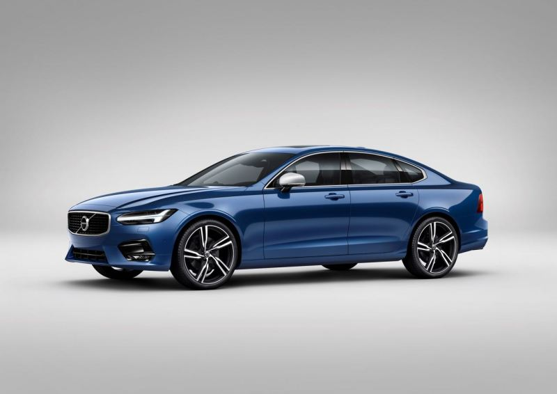 Volvo S90 R-design Studio. Bild: Volvo PV