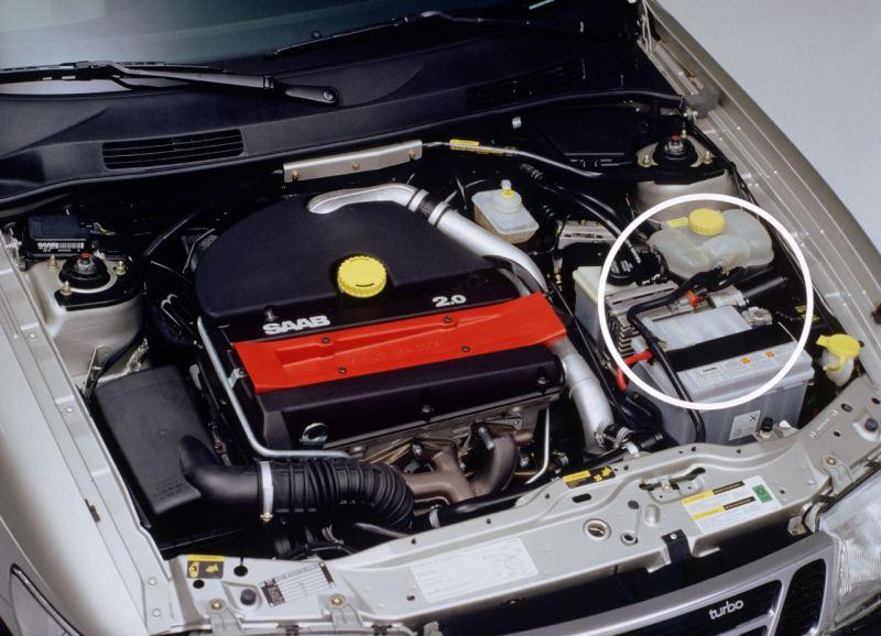 Stellmotor der Kupplung. Foto Credit: Saab Automobile AB