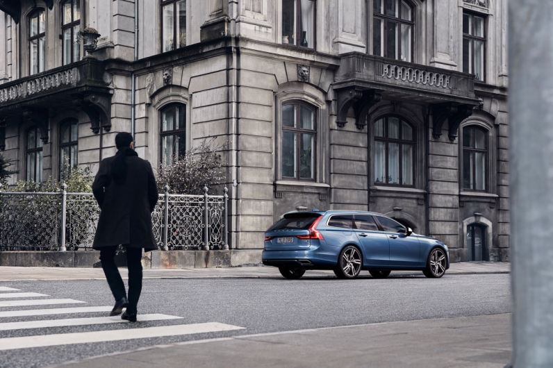 Volvo V90 R-Design. Bild: Volvo Cars