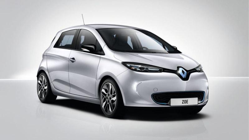Auszeichnung in der Privatklasse. Renault Zoe. Bild: Renault
