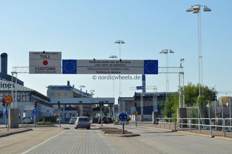 Einreise nach Schweden