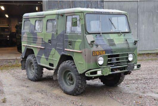 Volvo Laplander Bild:Statens försvarshistoriska museer