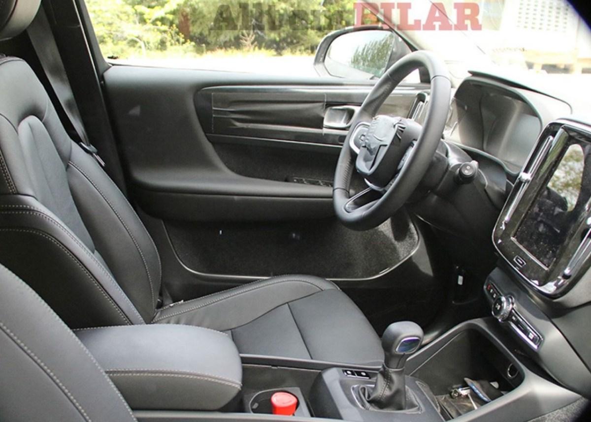 Neuer Volvo XC40. Bilder vom Innenraum.