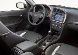 Überarbeiteter Innenraum Saab 9-3 Griffin. Bild: Saab Automobile AB