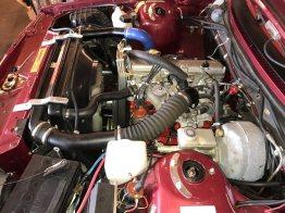 Frisch überholter Motor laut Anzeige. Bild: Tradera