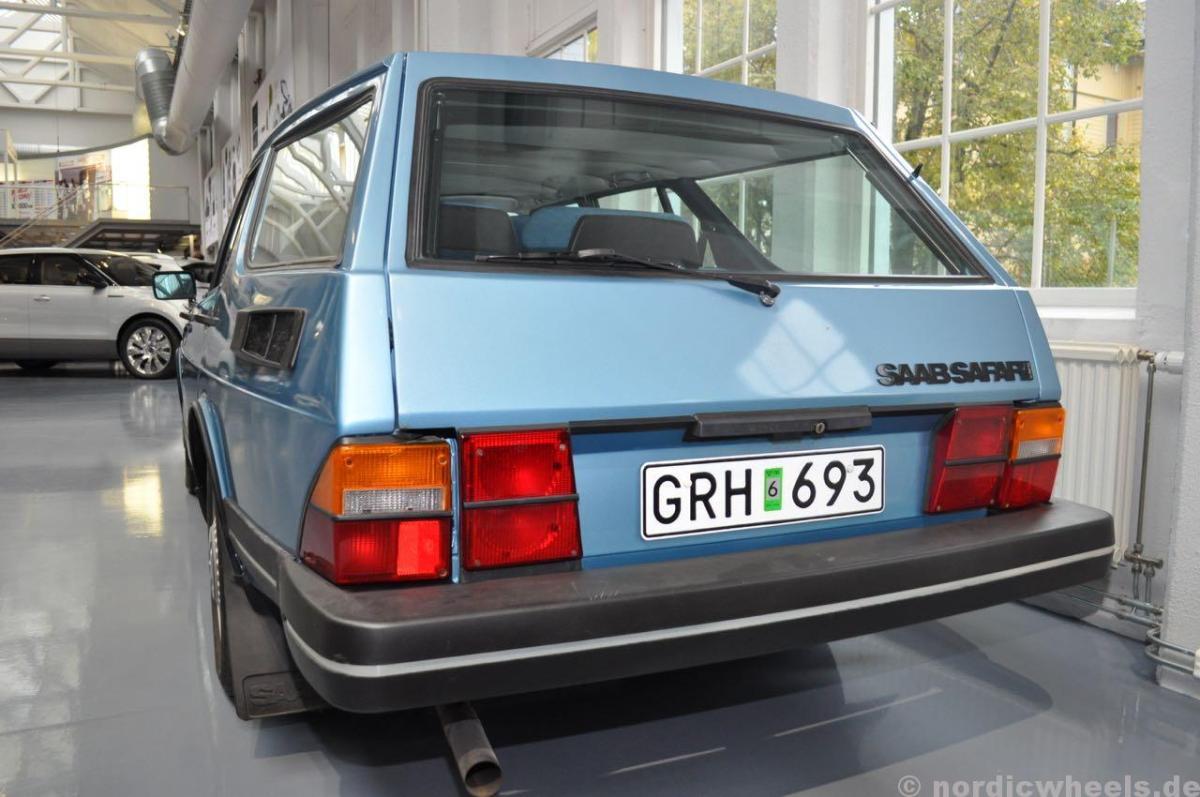 Ein spezieller Kombi aus Schweden. Saab 900 Safari.