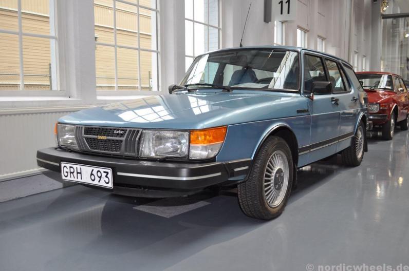 Saab 900 Safari 1981