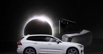 Racing the Sun. Volvo jagt die Sonnenfinsternis.