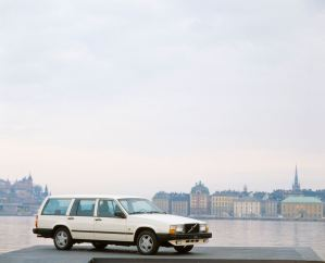 Volvo 740 Turbo. Bild: Volvo Cars