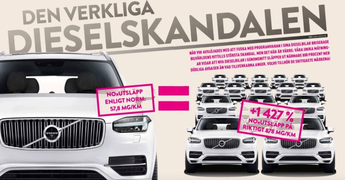 Volvo und der Abgasskandal. Die Reaktionen in Schweden.