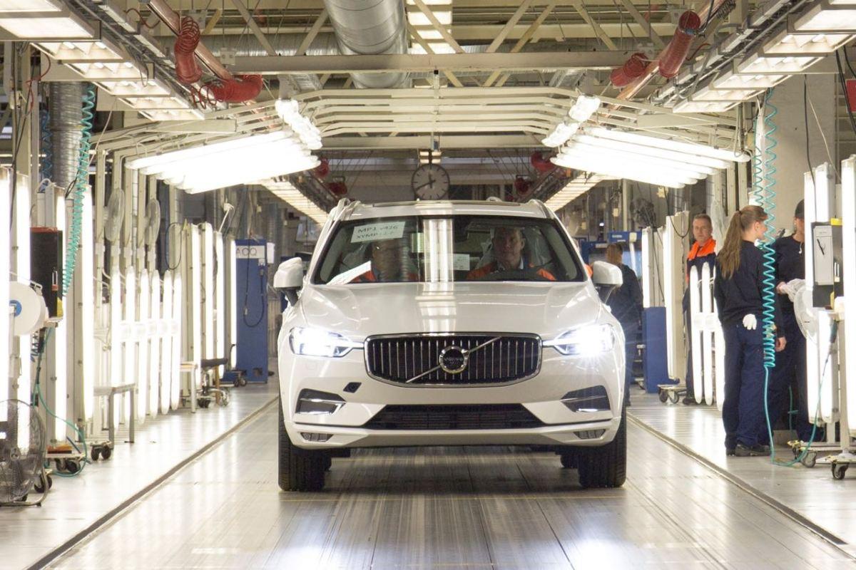 Volvo Werk Torslanda soll 300.000 Fahrzeuge pro Jahr produzieren