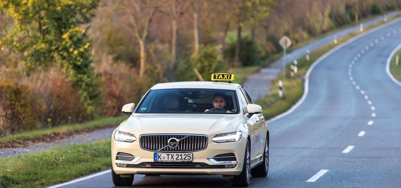 Lust auf Schweden-Taxi? Volvo S90 jetzt auch als Taxi.