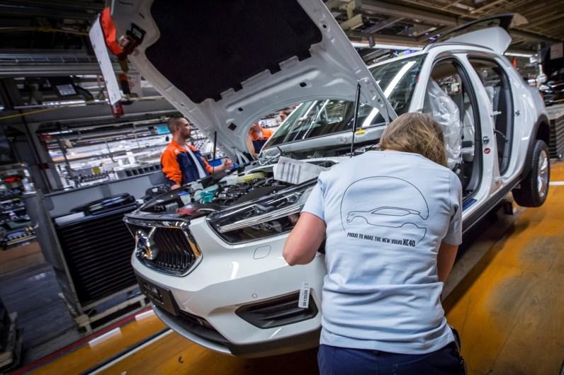 Der offizielle Produktionsstart findet heute statt. Bild: Volvo Cars
