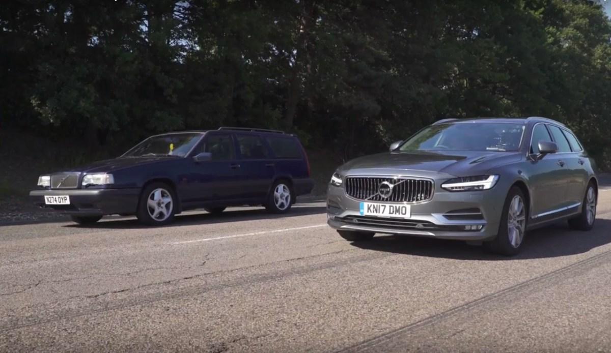 Volvo 850 T5 gegen Volvo V90 D5 AWD