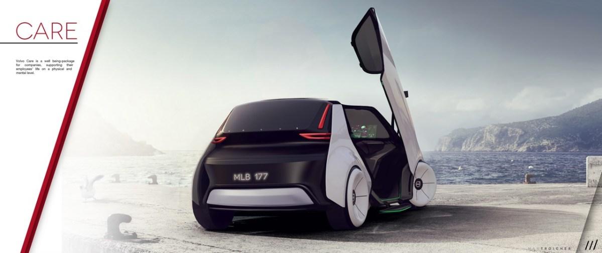 Studie für die Zukunft. Volvo Care Concept.