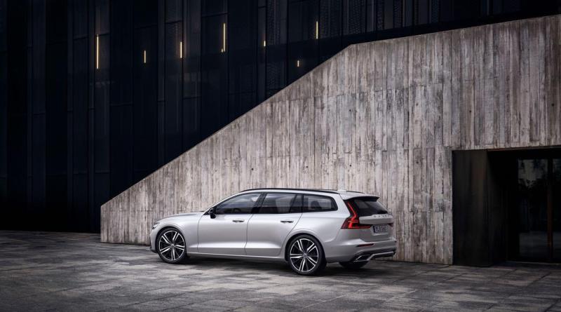 Ab Mitte November verfügbar: Volvo V60 R-Design Variante