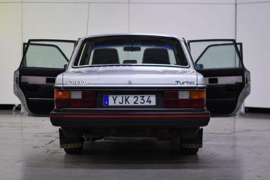 Seltener, früher 244 Turbo. Foto