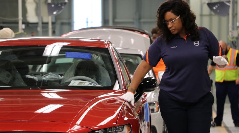 Volvo Werk South Carolina - Expansion auf Eis gelegt