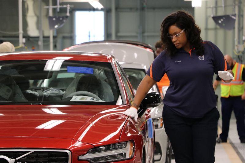 Volvo Werk South Carolina - Expansion auf Eis gelegt