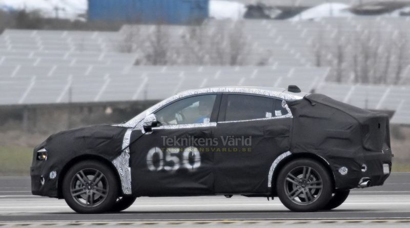 Lynk & Co SUV Coupe? Spyshot von Teknikensvarld