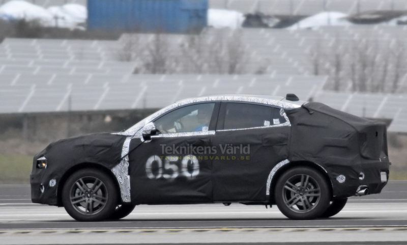 Lynk & Co SUV Coupe? Spyshot von Teknikensvarld