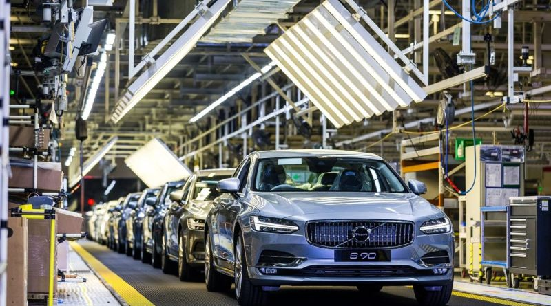 100.000 Volvo S90 aus China