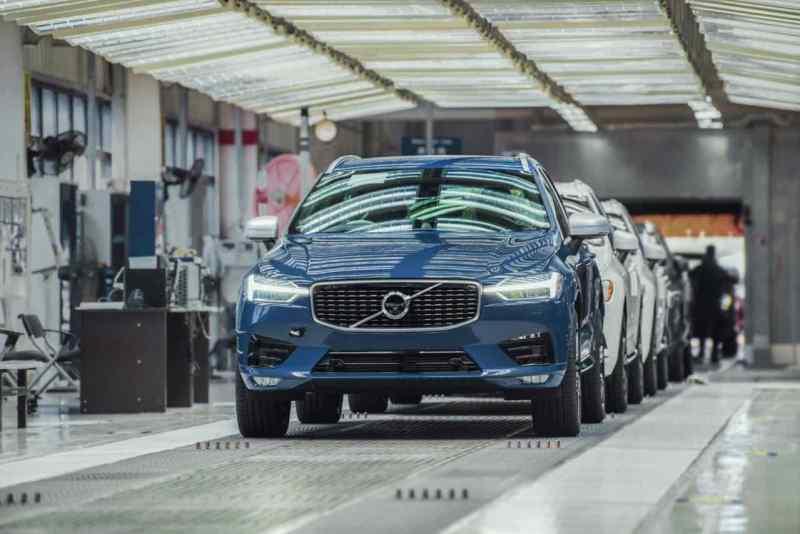 Volvo Produktion in Chengdu