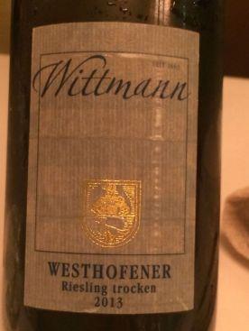 Wittman Riesling