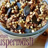 Knuspermüsli - Zimtcrunchy