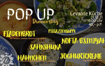 Levante POP UP Dinnerstag