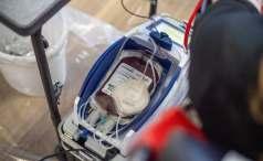 Ein halber Liter Blut wird in der Regel gespendet.