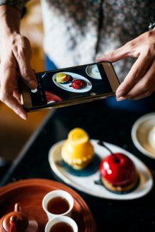 Selbst unser Essen dokumentieren wir für andere.