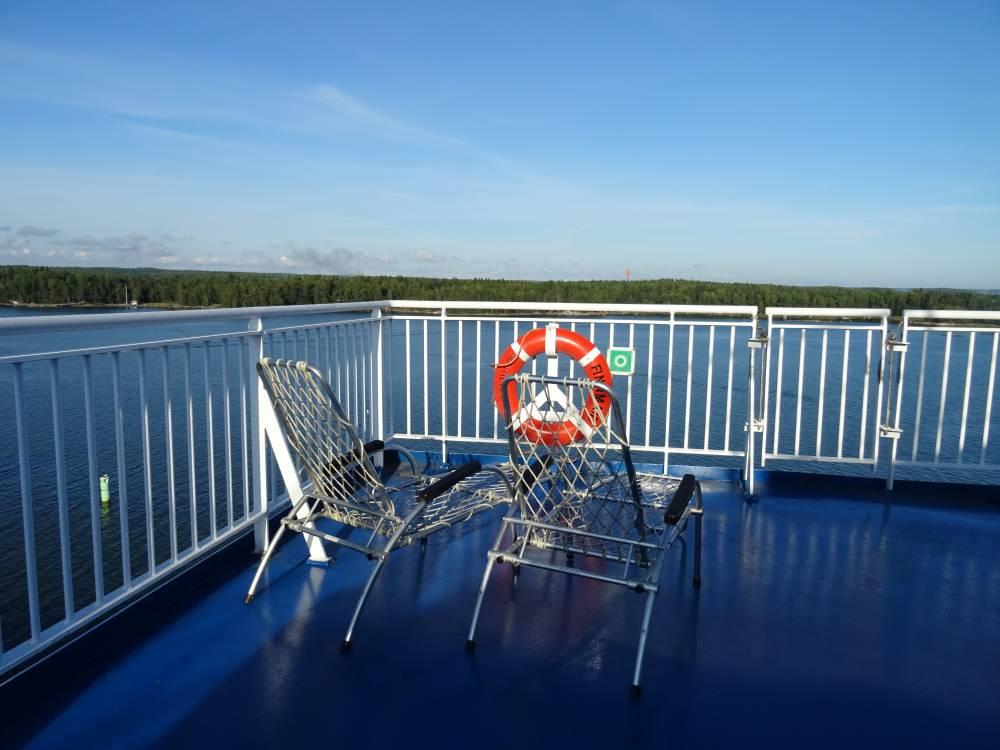 Travemünde - Helsinki: Mit Finnlines entspannt über die Ostsee